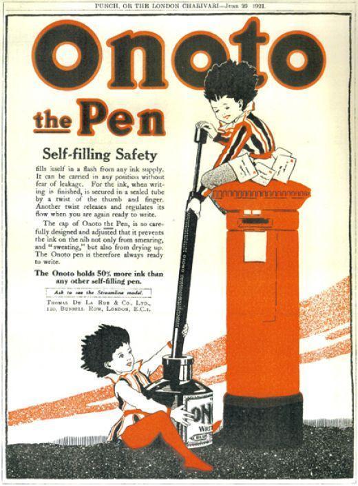 Pen vintage ads casa della stilografica online pen shop - Portamine vintage ...