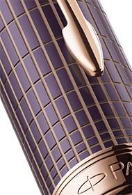 Parker Sonnet Purple Ciselè