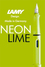 Lamy Safari Neonlime - Limited Edition 2015