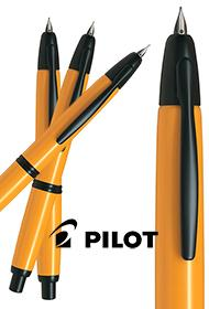 Pilot Capless Yellow & Black