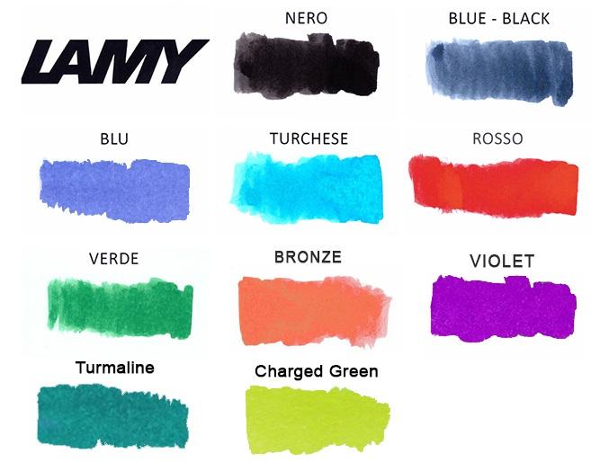 Lamy T10 Cartuccia d/'inchiostro viola