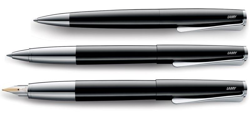 Penna stilografica EF all black Lamy Studio