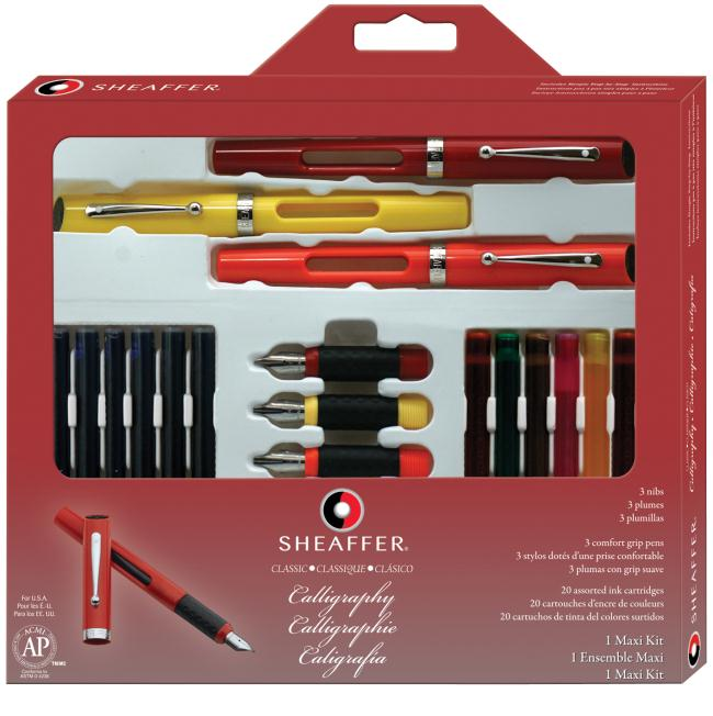 SHEAFFER NEW MAXI KIT Calligrafia - 2013