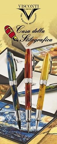 penna VISCONTI Van Gogh Pollard Willow sfera//roller// stilografica// rollergraphic